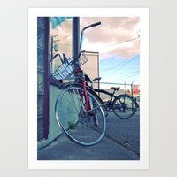 South Tacoma bicycles Art Print