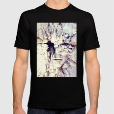 Bleak world of absent law Mens Fitted Tee Black SMALL