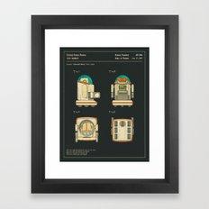 ROBOT (1987) Framed Art Print