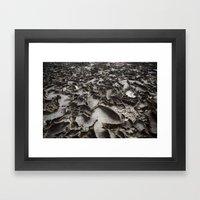 Textured Floor Framed Art Print