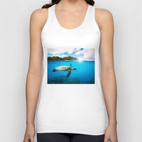 Tropical Paradise Unisex Tank Top