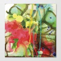 Fruity Splash Canvas Print