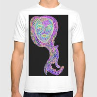 MYSTIKAL PSYPRINCESS Mens Fitted Tee White SMALL