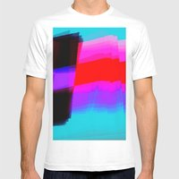 Flagging Mens Fitted Tee White SMALL
