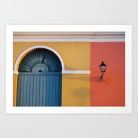 Light Shadow Art Print