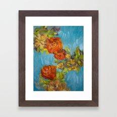 Flower Series 12 Framed Art Print