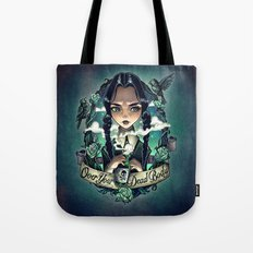 OVER YOUR DEAD BODY Tote Bag