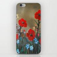Impasto Red Poppy Love G… iPhone & iPod Skin
