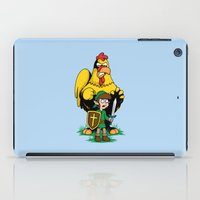 The Legend Of Ernie (lig… iPad Case