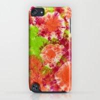 iPod Touch Cases featuring Mango Mushrooms by Vikki Salmela