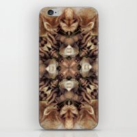 Fet Up and Folded  iPhone & iPod Skin