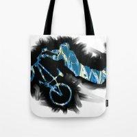 show bicycle Tote Bag