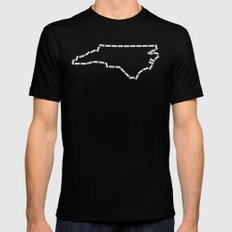 Ride Statewide - North Carolina Mens Fitted Tee Black SMALL