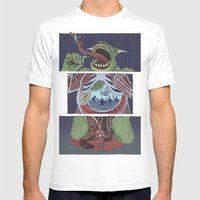 Troll Killer Mens Fitted Tee White SMALL