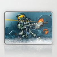 HALO / MASTER Ch Laptop & iPad Skin