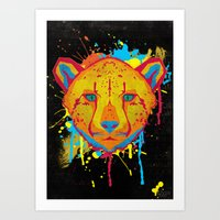 Cat Series: Cheetah  Art Print