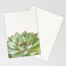 Green Succulent Stationery Cards