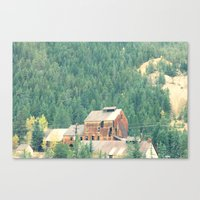 Rusty Nature Canvas Print