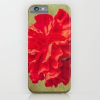 Red Carnation. iPhone 6 Slim Case