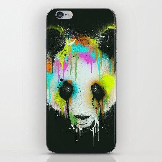 Technicolour Panda iPhone & iPod Skin