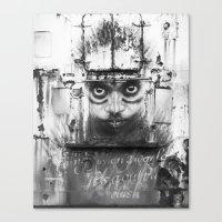 Boatface Canvas Print