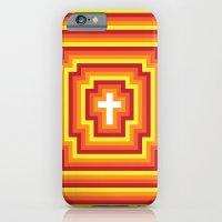 Technicolour Cross - Ora… iPhone 6 Slim Case