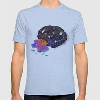 Cosmic Chip Cookie  Mens Fitted Tee Athletic Blue SMALL