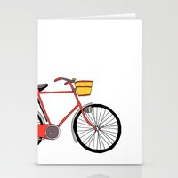 Bicycle Number Four Stationery Cards