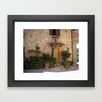 toscana 612 Framed Art Print