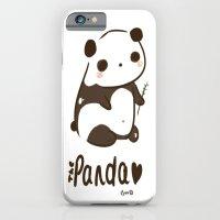 iPhone & iPod Case featuring Panda Panda by I3uu