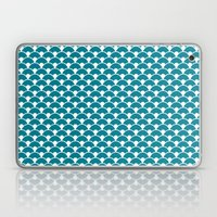 Dragon Scales Teal  Laptop & iPad Skin