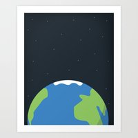 Earth Day Art Print