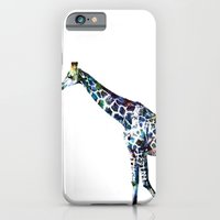 iPhone & iPod Case featuring Giraffe 2 by NKlein Design