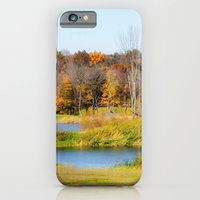iPhone & iPod Case featuring Fall at the Ponds by Captive Images Photography