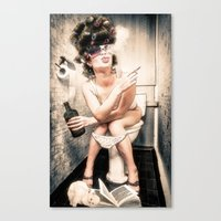 Another Saturday Night Canvas Print