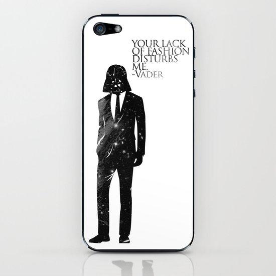 the lord of fashion iPhone & iPod Skin