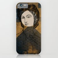 Coiffure for a young lady iPhone 6 Slim Case