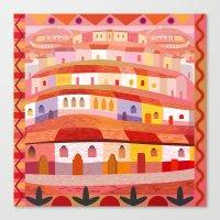 Little Sonora (Square) Canvas Print