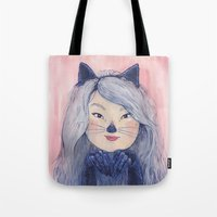 BaeBae Kitty Tote Bag