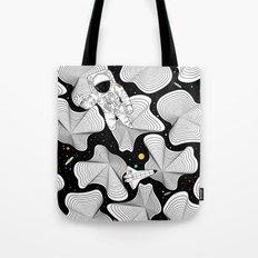 Worlds Apart Tote Bag