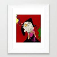Diamanda Framed Art Print