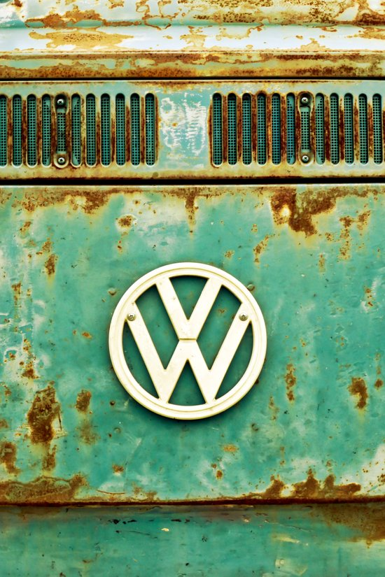 VW Retro Art Print