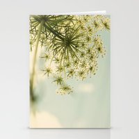 Botanical Queen Anne's Lace Stationery Cards