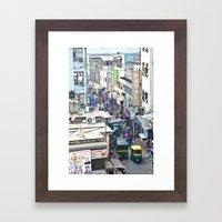 India New Delhi Paharganj 5537 Framed Art Print