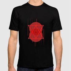 Zelous Mens Fitted Tee Black SMALL