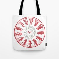 Dancing with Hannibal Tote Bag