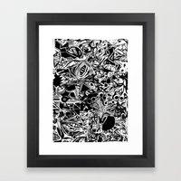 Black/White #1 Framed Art Print