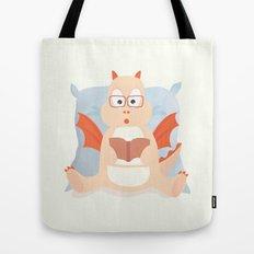 little smart dragon Tote Bag