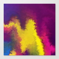 Magical Movement Canvas Print