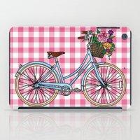 Her Bicycle iPad Case